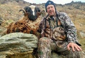 Arapawa ram hunting New Zealand