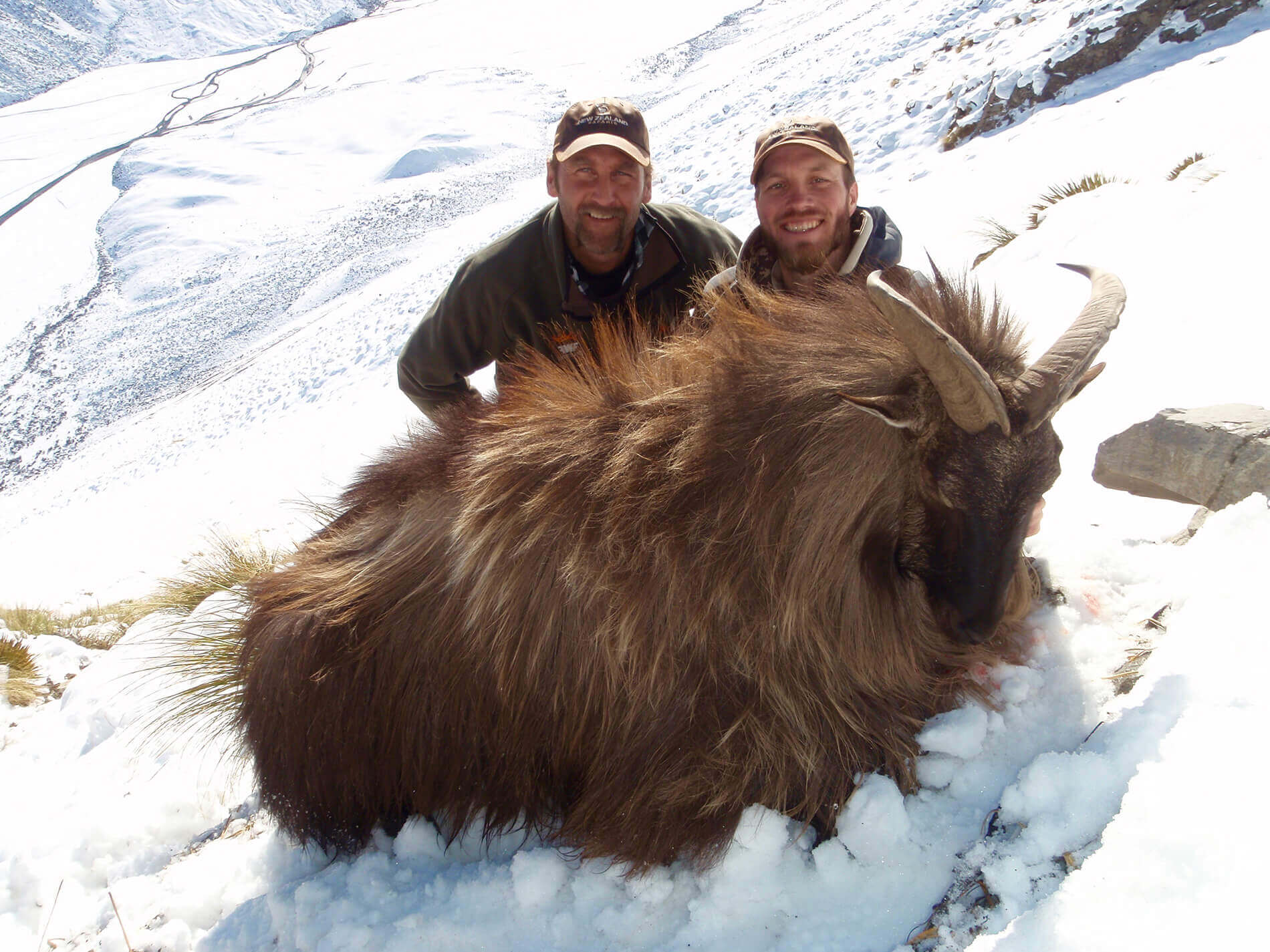 troy with tahr trophy