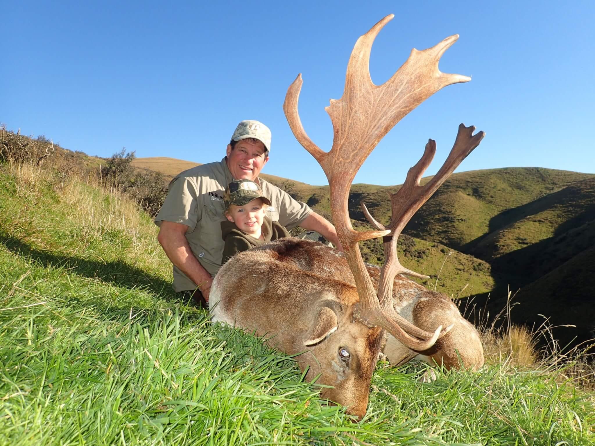 New Zealand Safaris Fallow Buck Hunting Trophy