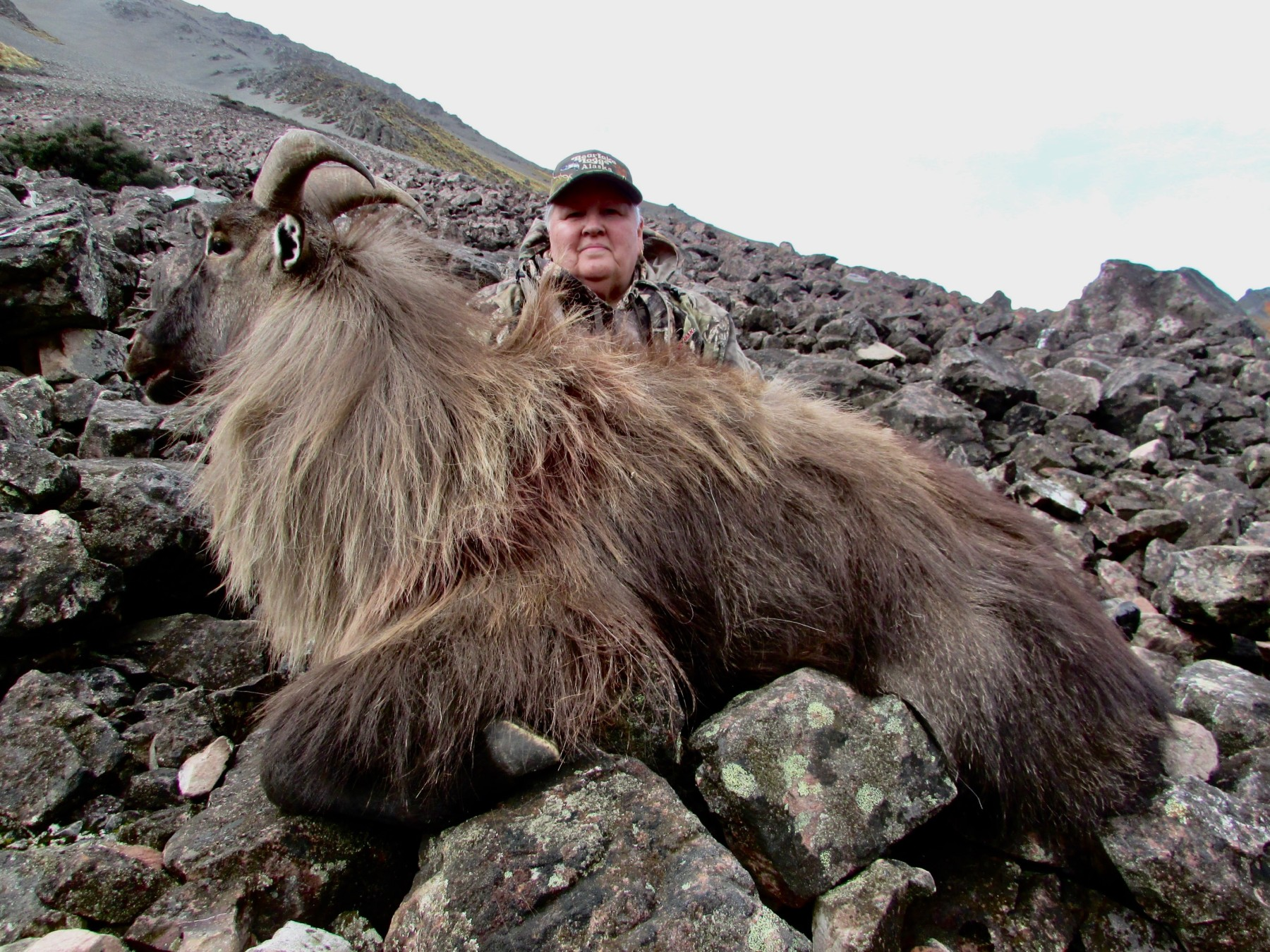 Huntress Tahr- no helicopter