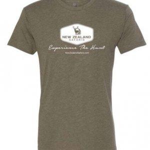 NZS logo tshirt front