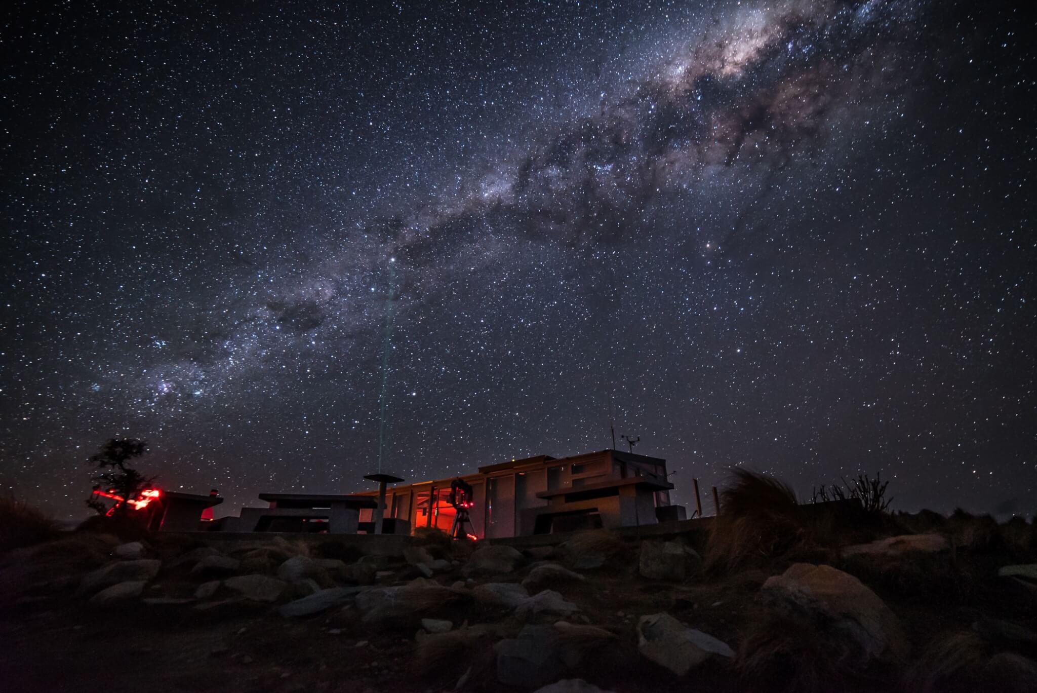 Mount John Dark Sky New Zealand