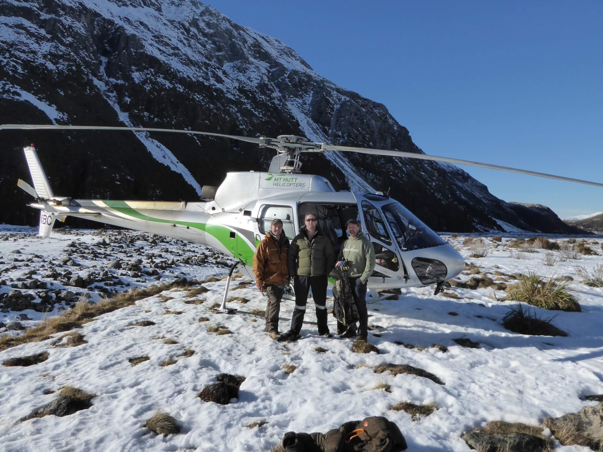 New Zealand Mt Hutt Helicopters