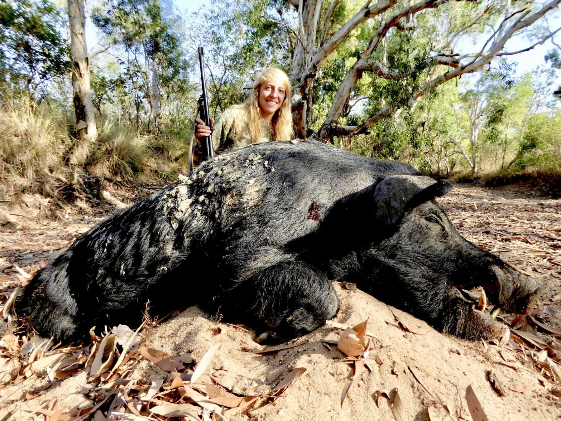 Pig hunting Australia