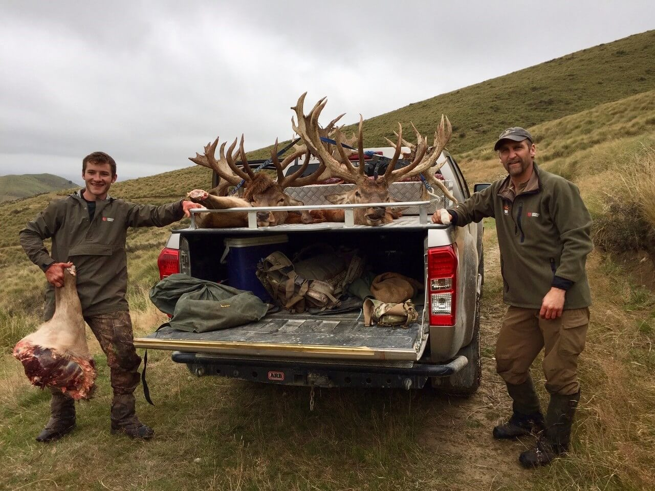 Taking Wild Meat Back Home from Hunting in New Zealand