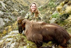 Youth female Hunter 13 inch Bull Tahr